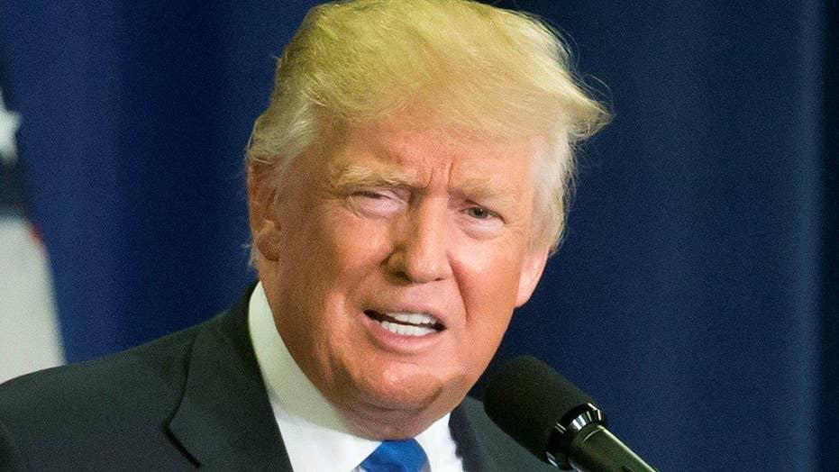 Trump blames 'divided nation' on weak leadership