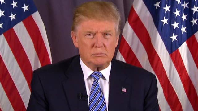 Donald Trump on racial tensions in America