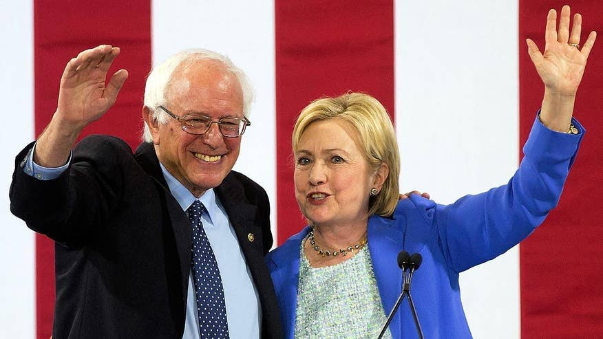 Hillary and Bernie became the new Democratic power couple; Jennifer Griffin explains on 'Special Report'