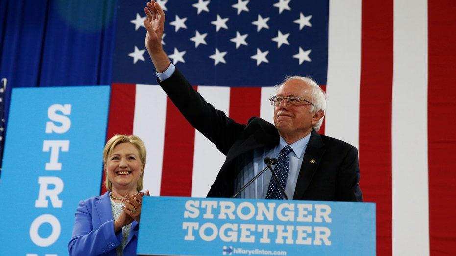 Sanders endorses former presidential rival Hillary Clinton