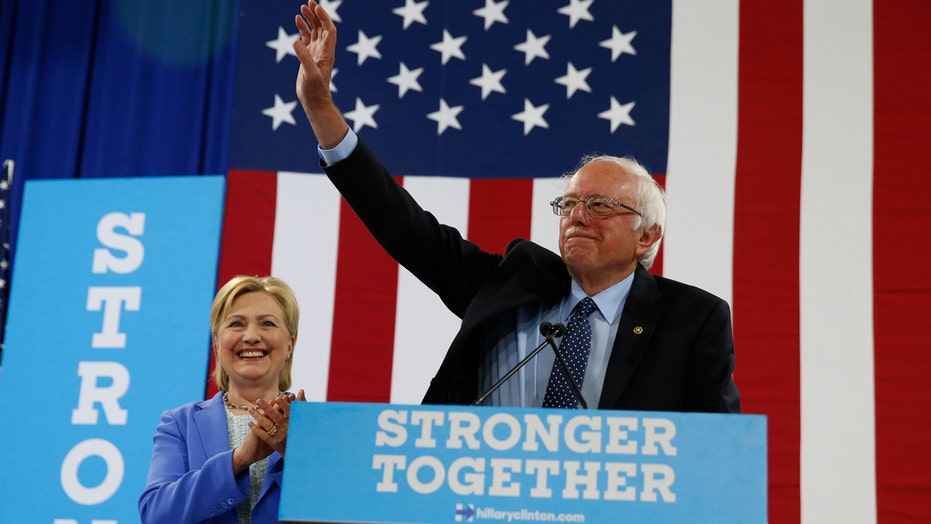 Sanders endorses former presidential rival Hillary Clinton