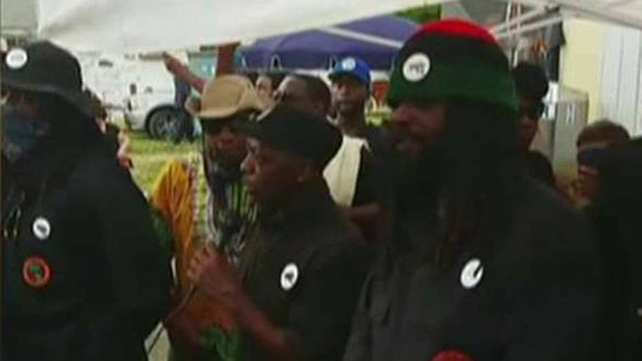 Black Panthers leader says group will have guns around RNC