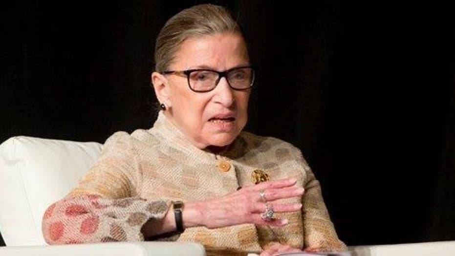 Greta: Ginsburg is imitating Trump with her remarks