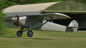 Mechanic makes sure we never forget Charles Lindbergh's historic flight