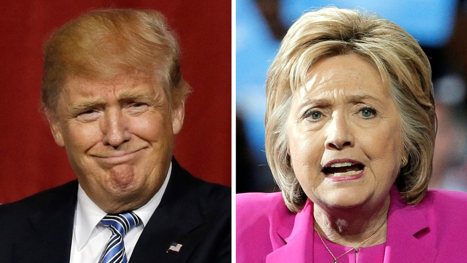 Trump tying Clinton in new poll an 'astonishing development'