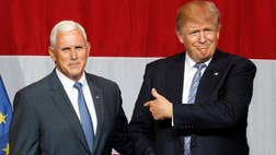 Pence pick softens Trump to the right.
