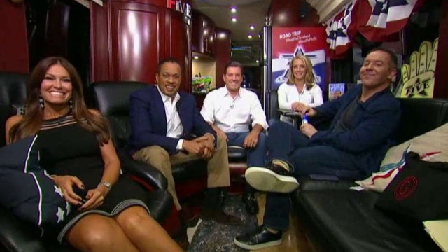 checking in with the five on their road trip to cleveland latest