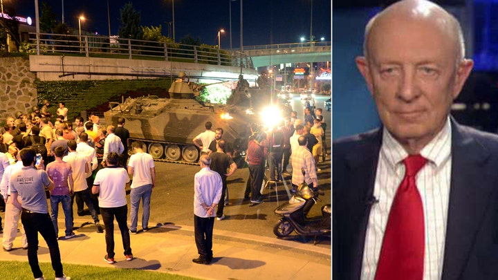 James Woolsey on fallout from 'clumsy' coup in Turkey