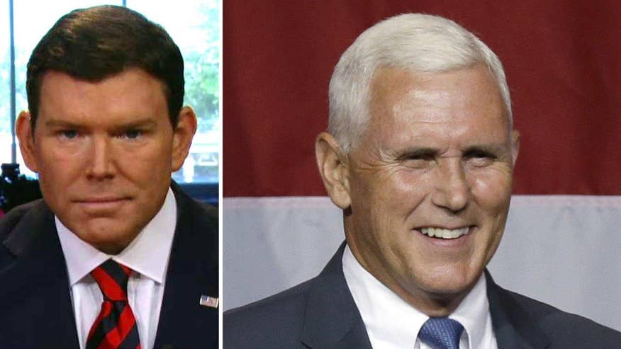 Donald Trump taps Indiana Gov. Mike Pence as his running mate; reaction from the anchor of 'Special Report'