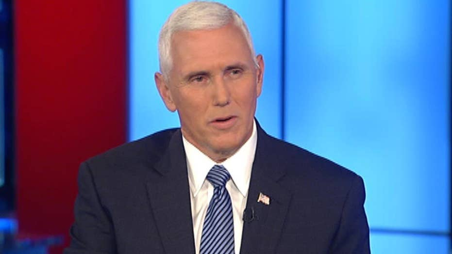 Pence 'very supportive' of Trump's call for immigration ban