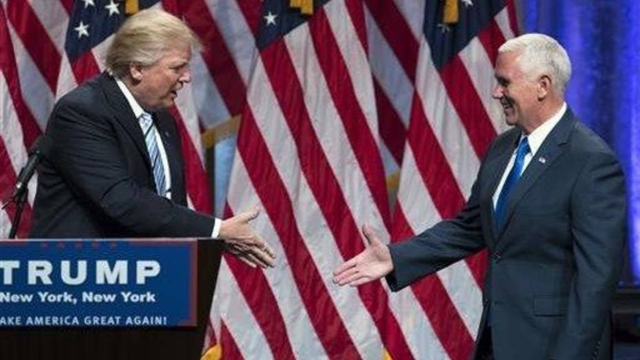 Democrats hit Trump over VP pick Mike Pence