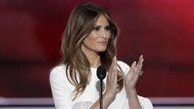 Wife of the presumptive GOP presidential nominee addresses the Republican National Convention