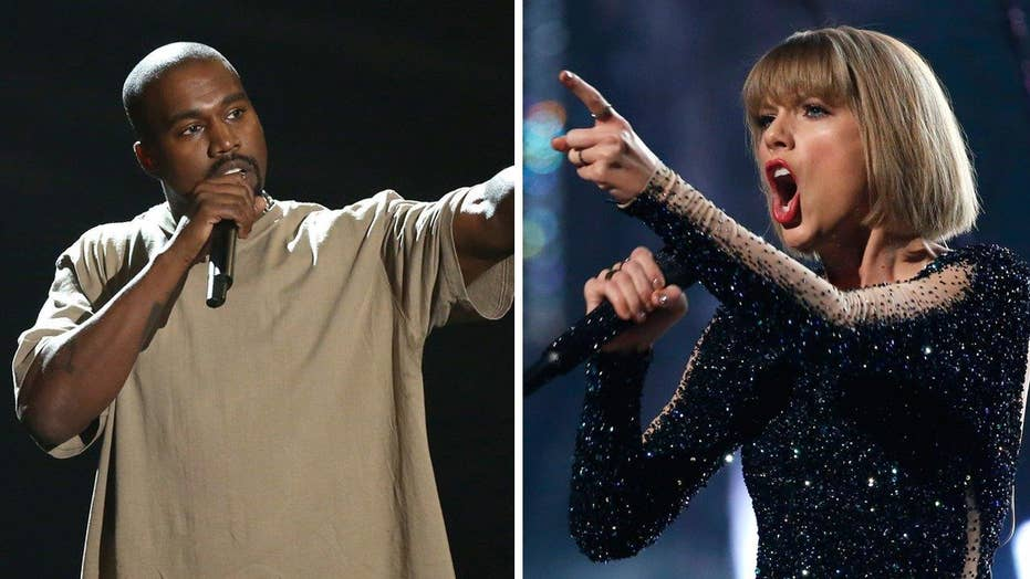 Taylor, Kanye feud heats back up