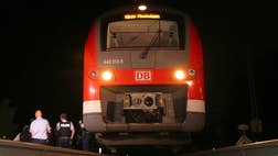 """The Islamic State released a video on Tuesday showing the extremist who wielded an axe during a train attack in Germany, in which he boasts how he would carry out a """"martyrdom operation"""" that would make the world forget about the terror attacks in France."""
