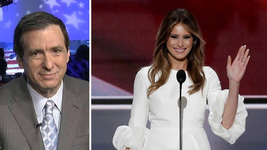 'MediaBuzz' host Howard Kurtz reacts to the Trump campaign denying that passages in Melania's speech were plagarized from Michelle Obama's