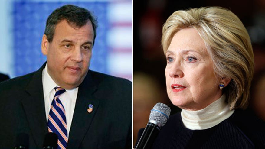 Republican governor of New Jersey lays out the case against Hillary Clinton