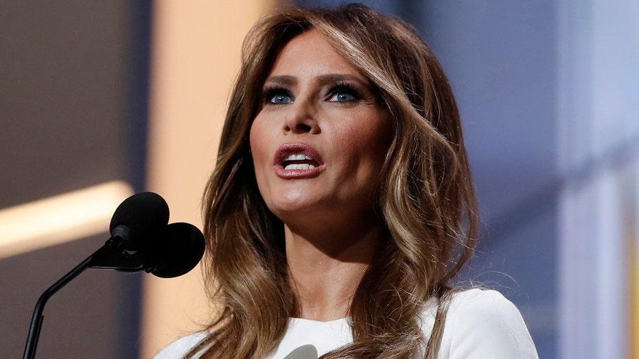 Trump campaign hits back at critics of Melania's RNC speech