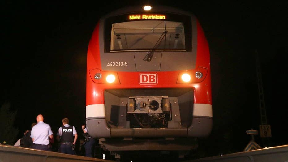 ISIS video purportedly shows German train attacker