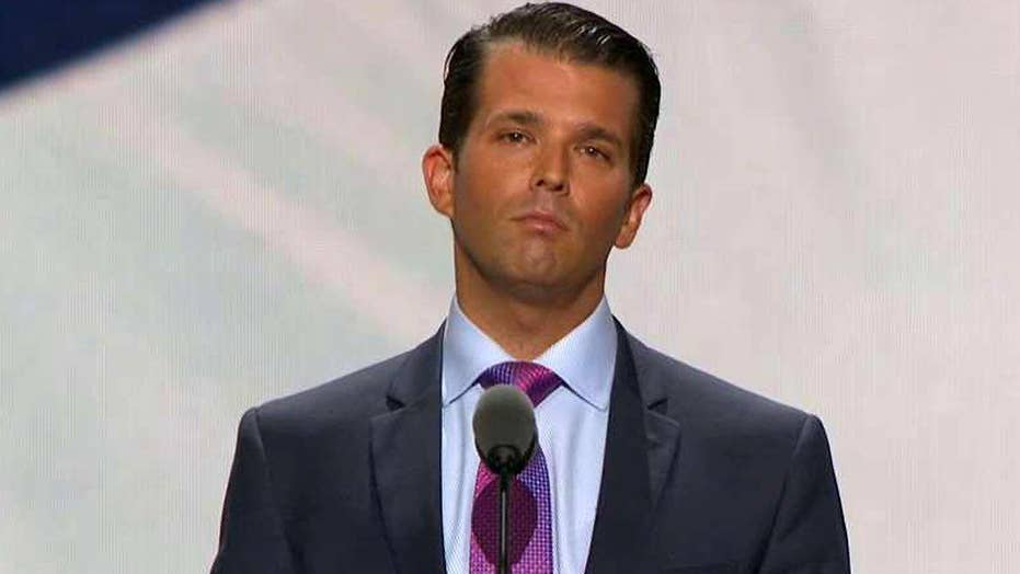 Donald Trump Jr.: My father accomplishes the impossible