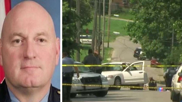 Kansas City police officer killed in the line of duty