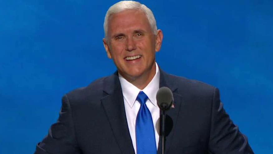 Republican vice presidential nominee addresses the GOP convention