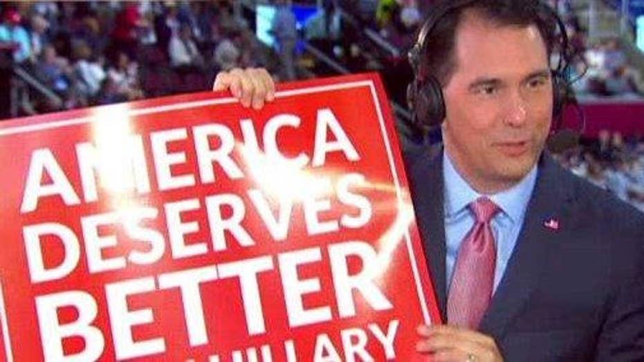 Gov. Walker: Trump a much better alternative than Hillary