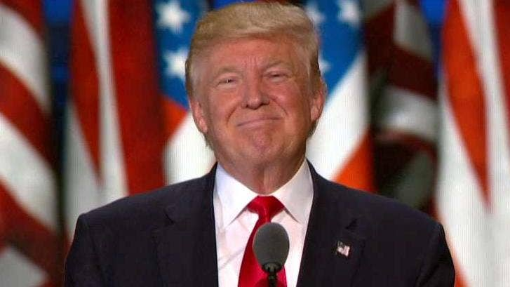 acceptance speech commentary After a rough week, donald j trump tried to refocus his campaign on wednesday with a speech attacking his democratic rival, hillary clinton but he took liberties with the truth.