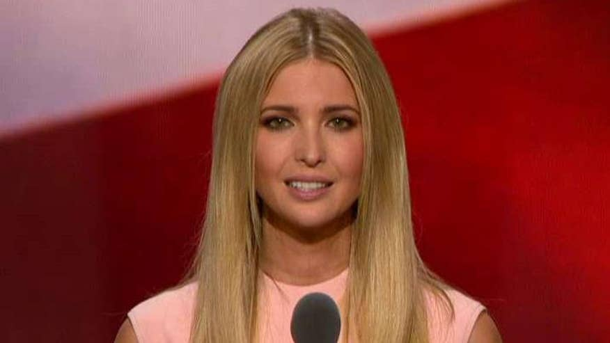 GOP nominee's daughter explains at the Republican National Convention how her father will support women