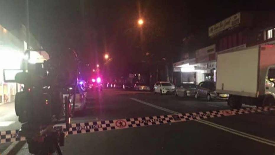Explosive-packed car targets police in Australia