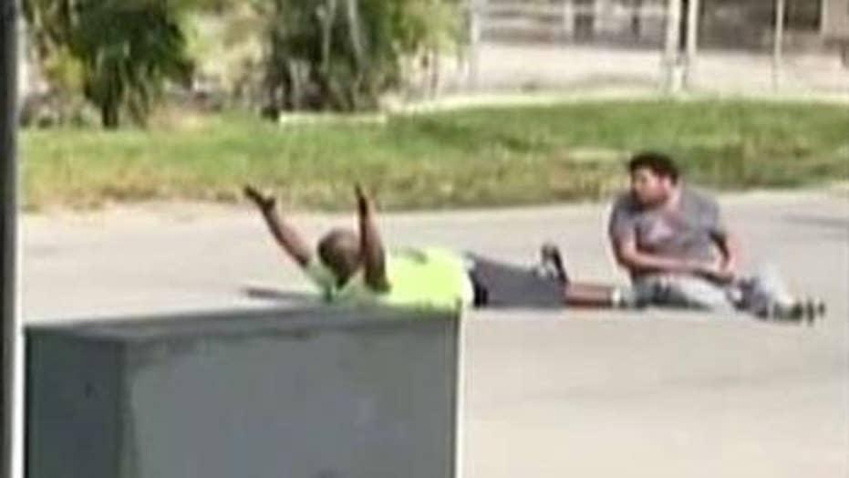 Florida cops shoot autistic man's unarmed caretaker