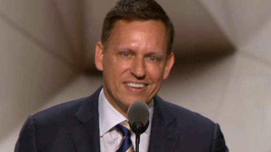 Peter Thiel: I'm proud to be gay, Republican and American