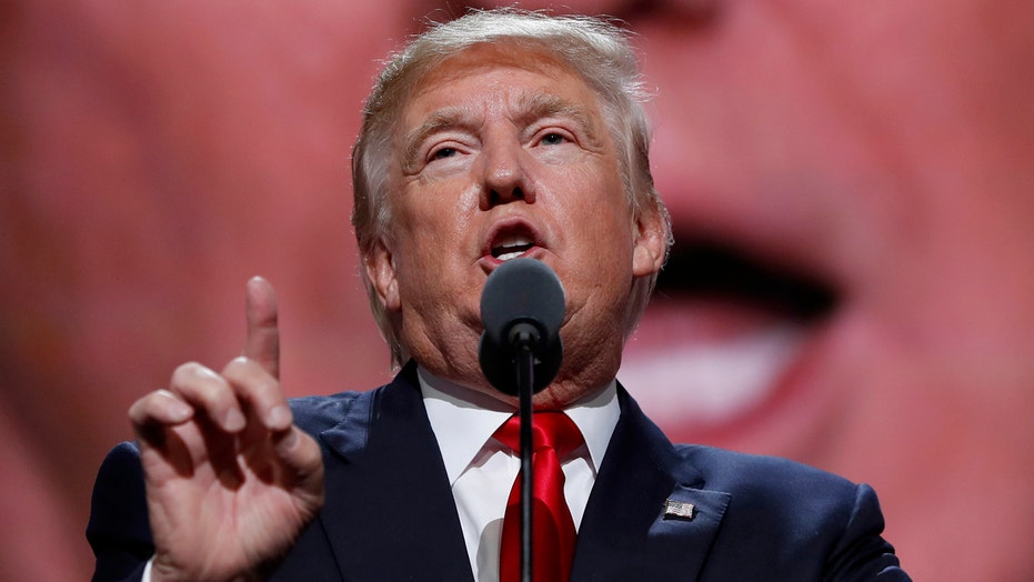 Donald Trump formally accepts the GOP nomination