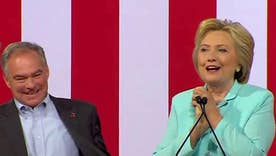 Clinton names Virginia Sen. Kaine as running mate