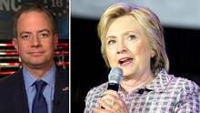 Priebus: Hillary Clinton is 'illegitimate' nominee