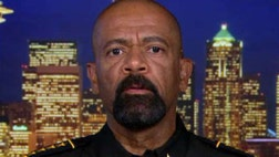 Sheriff Clarke has been trying to restore law and order after several nights of rioting following the shooting death of -year-old Sylville Smith by a Milwaukee police officer.