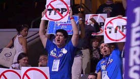 Sanders supporters make voices heard on DNC floor
