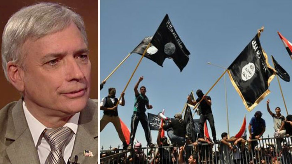 Terror expert warns Western world is being 'invaded' by ISIS