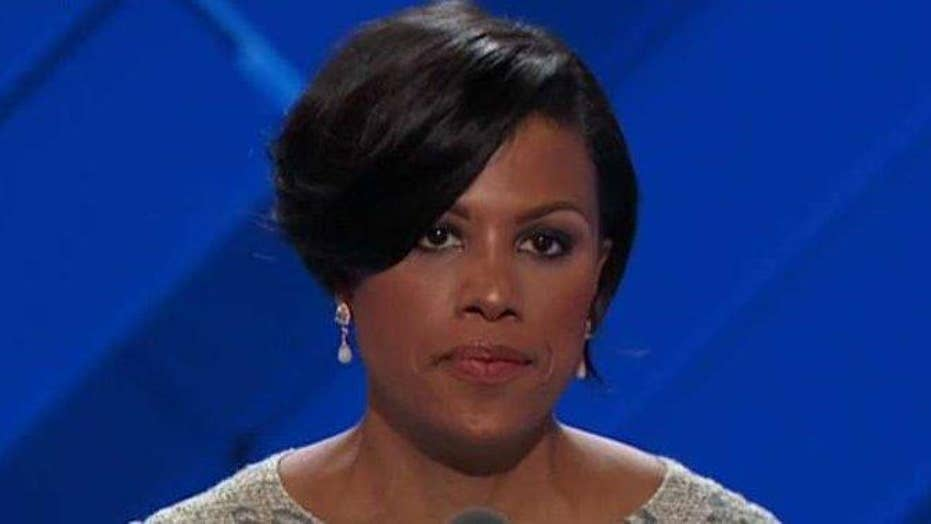 Baltimore mayor gavels in the Democratic National Convention