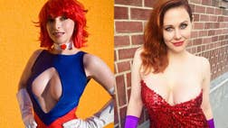 Scores of attractive women made their way to Comic Con in San Diego, Calif.