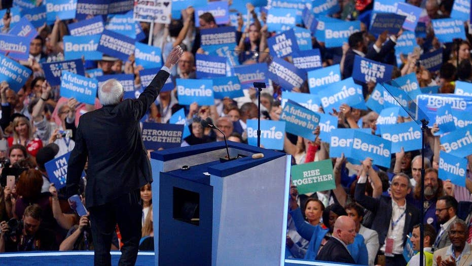 Sanders supporters pushing to include him in roll call vote