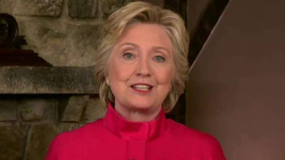Hillary Clinton: We just put biggest crack in glass ceiling