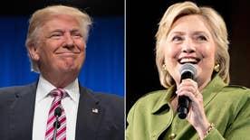 Comparing Clinton, Trump