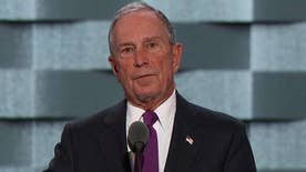 Former New York City mayor addresses the Democratic National Convention