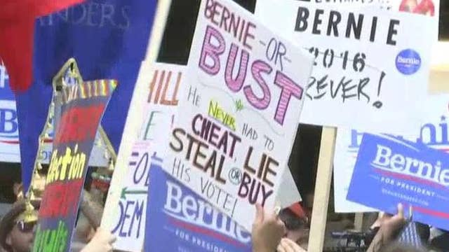 Is mainstream media coverage of the DNC biased?