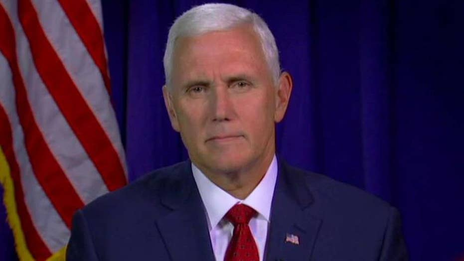 Mike Pence: Obama years why Trump message is resonating