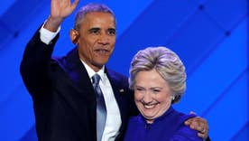 Obama passes baton to Clinton, stirs up '3rd term' charges