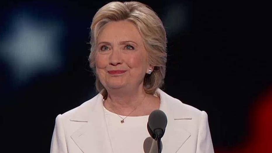 Full speech: Clinton accepts Democratic nomination, Part 1