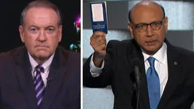 Huckabee responds to Muslim father featured at DNC