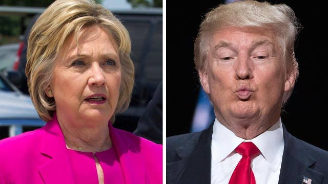 Report: Dems worried Clinton not pulling ahead of Trump