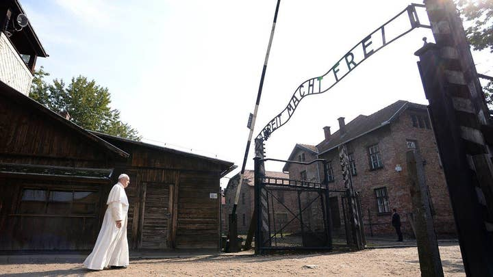 Pope Francis makes historic visit to Auschwitz